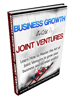 Use Joint Ventures to grow a successful business