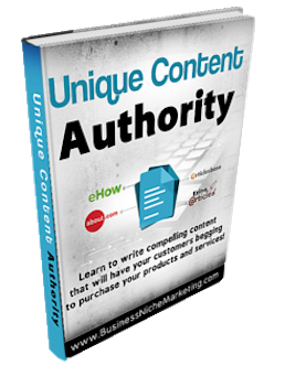 Unique Content Authority to gain a Google Page #1 Ranking